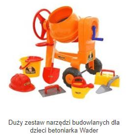Narzędzia budowlane dla dzieci